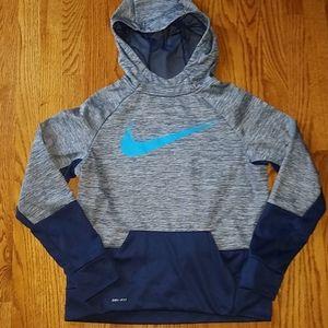 Nike navy drifit hoodie size Xl